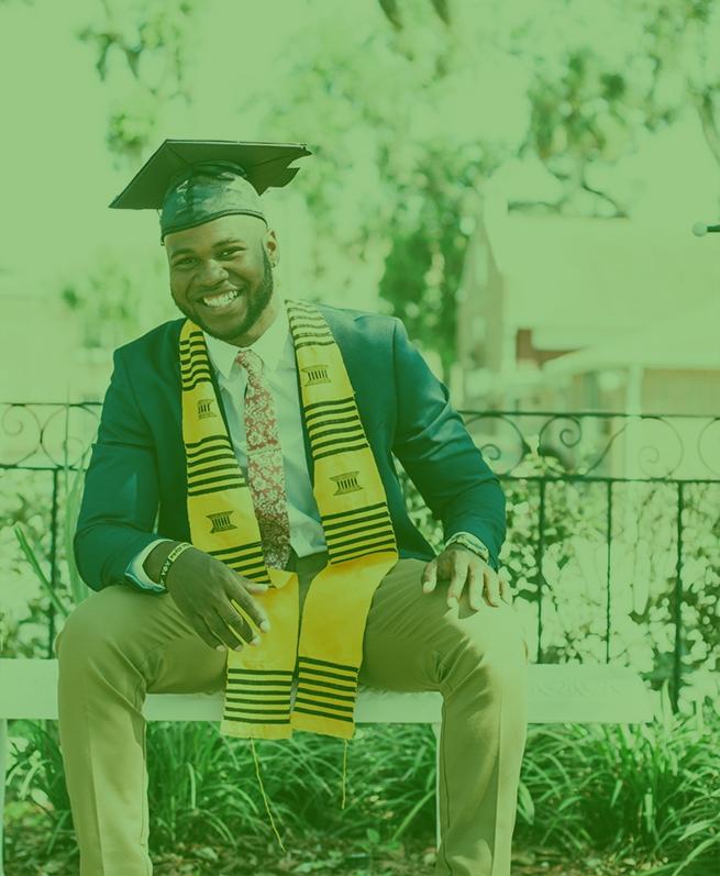 HBCU Student Graduated